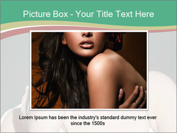 Woman with classy makeup PowerPoint Templates - Slide 15