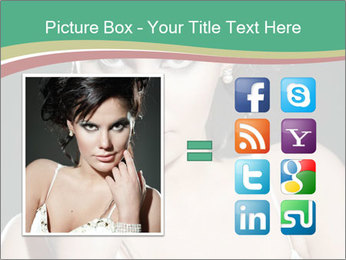 Woman with classy makeup PowerPoint Templates - Slide 21