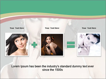 Woman with classy makeup PowerPoint Template - Slide 22