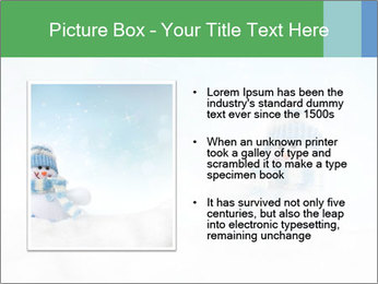Snowman toy PowerPoint Templates - Slide 13