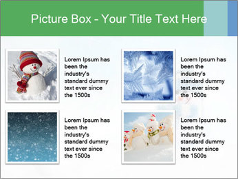 Snowman toy PowerPoint Templates - Slide 14