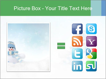 Snowman toy PowerPoint Templates - Slide 21