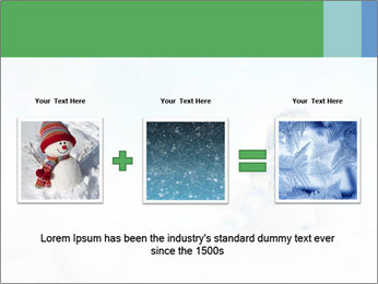Snowman toy PowerPoint Templates - Slide 22