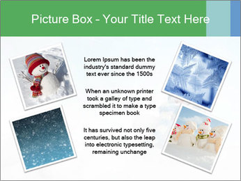 Snowman toy PowerPoint Templates - Slide 24