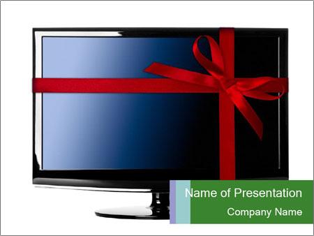 Modern Led tv PowerPoint Templates