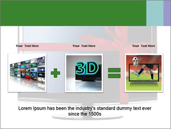 Modern Led tv PowerPoint Template - Slide 22