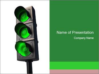 Traffic light PowerPoint Template - Slide 1