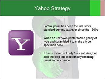 Traffic light PowerPoint Template - Slide 11