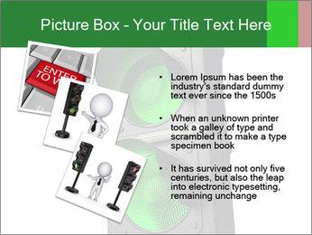 Traffic light PowerPoint Template - Slide 17