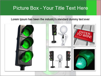 Traffic light PowerPoint Template - Slide 19