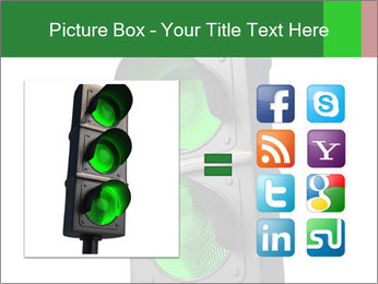 Traffic light PowerPoint Template - Slide 21