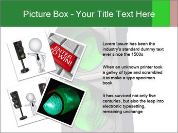 Traffic light PowerPoint Template - Slide 23