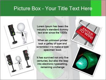 Traffic light PowerPoint Template - Slide 24