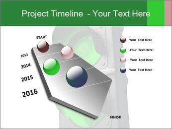 Traffic light PowerPoint Template - Slide 26