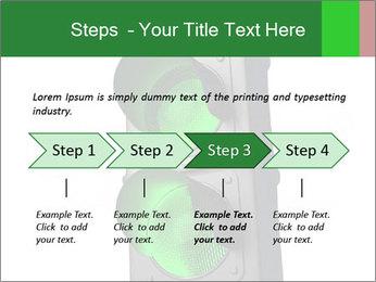 Traffic light PowerPoint Template - Slide 4