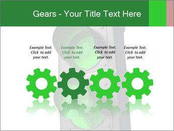 Traffic light PowerPoint Template - Slide 48