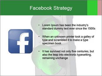 Traffic light PowerPoint Template - Slide 6