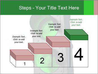 Traffic light PowerPoint Template - Slide 64