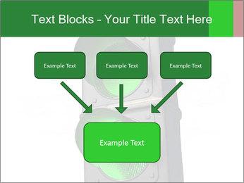 Traffic light PowerPoint Template - Slide 70