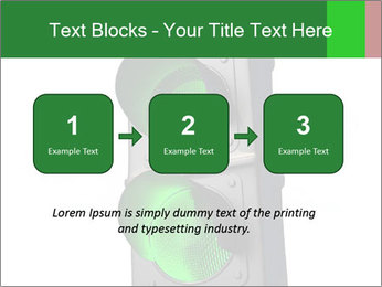 Traffic light PowerPoint Template - Slide 71