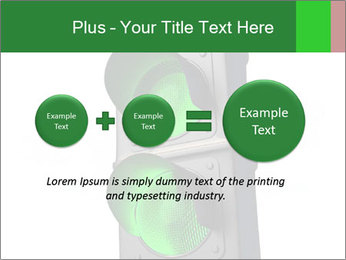 Traffic light PowerPoint Template - Slide 75