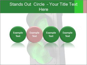 Traffic light PowerPoint Template - Slide 76
