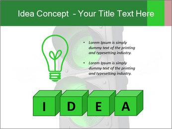 Traffic light PowerPoint Template - Slide 80