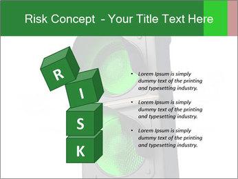 Traffic light PowerPoint Template - Slide 81