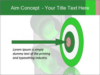 Traffic light PowerPoint Template - Slide 83
