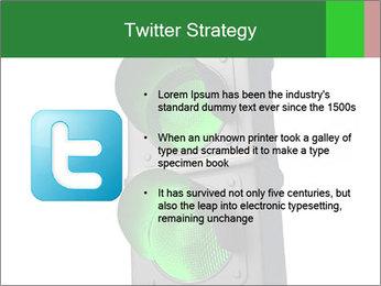 Traffic light PowerPoint Template - Slide 9