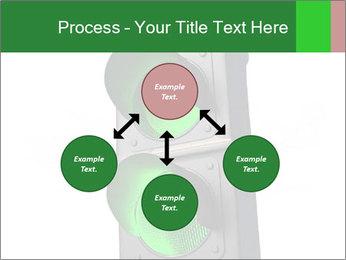 Traffic light PowerPoint Template - Slide 91