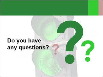 Traffic light PowerPoint Template - Slide 96