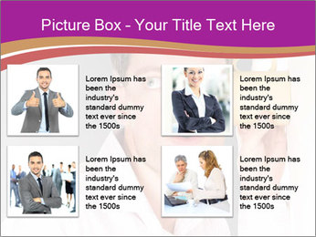 Man listening PowerPoint Templates - Slide 14