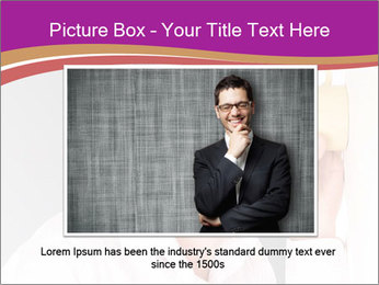Man listening PowerPoint Template - Slide 15