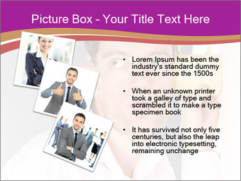Man listening PowerPoint Template - Slide 17