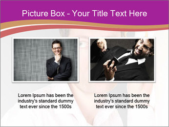 Man listening PowerPoint Template - Slide 18