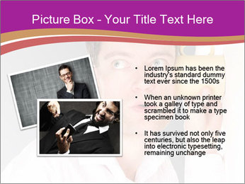 Man listening PowerPoint Templates - Slide 20