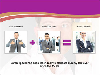 Man listening PowerPoint Templates - Slide 22