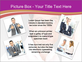 Man listening PowerPoint Template - Slide 24