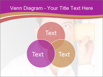 Man listening PowerPoint Templates - Slide 33