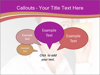 Man listening PowerPoint Templates - Slide 73