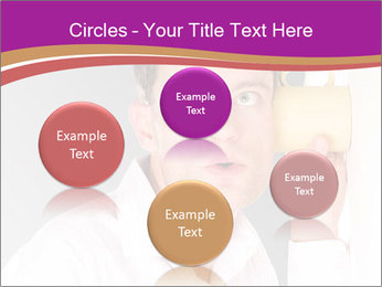 Man listening PowerPoint Templates - Slide 77