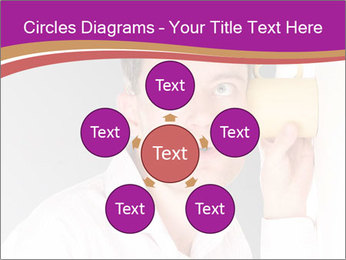 Man listening PowerPoint Templates - Slide 78