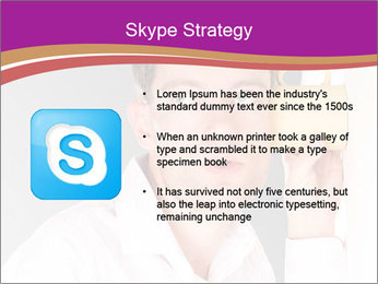 Man listening PowerPoint Templates - Slide 8