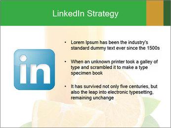 Orange juice PowerPoint Template - Slide 12