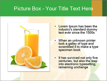 Orange juice PowerPoint Template - Slide 13