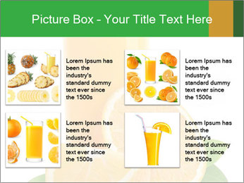 Orange juice PowerPoint Template - Slide 14