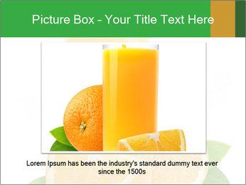 Orange juice PowerPoint Template - Slide 15