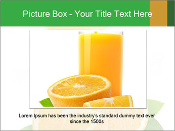 Orange juice PowerPoint Template - Slide 16
