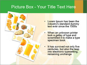 Orange juice PowerPoint Template - Slide 17